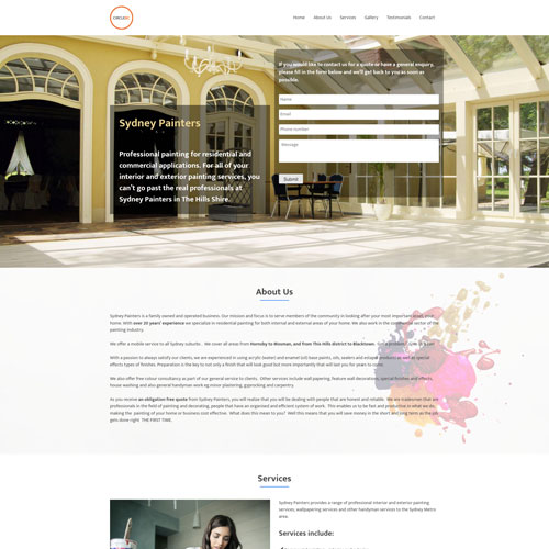 screencapture onepage4 - Demo Websites